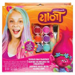 Trolls Temporary Hair Color Kit For Kids Ages 7 And Up - NEW