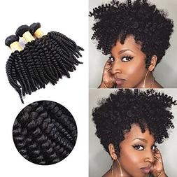 Top Hair Unprocessed Brazilian Kinky Curly Human Hair Extens