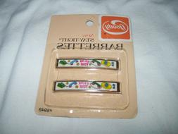 Vintage 1975 GOODY Hair Barrettes Pack of 2  - It's For You