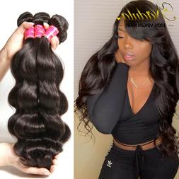 Nadula Virgin Hair 1/3 Bundles 7A Cambodian Body Wave Curly