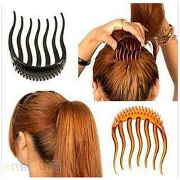 Volume Inserts Hair Clip Bumpit Bouffant Ponytail Hair Comb