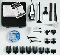 WAHL 79524 2501 HAIRCUT KIT 24 PIECE HARD CASE CHROME PRO