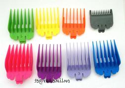 For Wahl Hair Clipper Combs Guides Guard Deluxe Chrome Color