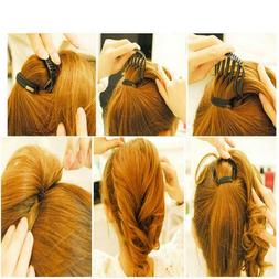 Women Vintage Style 7 Teeth Volume Insert Hair Comb Clips Fo