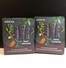 X 2 Aveda INVATI ADVANCED System Trio For Thinning Hair NEW!