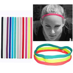 Yoga <font><b>Hair</b></font> Bands Elastic Rubber Anti-slip